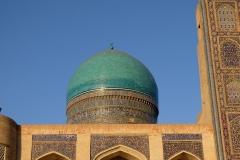 Eine der mit Mosaiken bestückten Kuppeln des Gebäudes