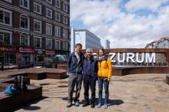 Mit Fesih unternehmen wir einen Ausflug zu den Sehenswürdigkeiten Erzurums