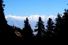 Auch den Blick zurück wollen wir nicht missen. Obwohl alle nur in Richtung des einen Berges schauen, ist der Blick in die entgegengesetzte Richtung mindestens ebenso toll!