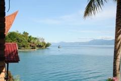 Ankunft am Tobasee, den wir von unserem Quartier auf der Insel Samosir aus erkunden