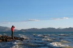 Blick über den Karakol-See