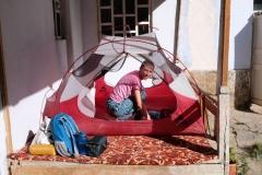 ...aber für heute schlagen wir unser Zelt in Ishkashim auf.
