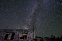 Als wir nach einem unterhaltsamen Abend zurück zum Hotel kommen, haben wir einen grandiosen Ausblick auf den Sternenhimmel über uns