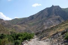 Spaziergang weiter hinein ins Tal