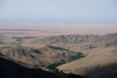 Toller Ausblick während der Wanderung zurück aus Ukhum