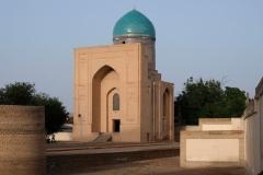 Unser Weg führt uns zum Bibi-Khanyum Mausoleum, dem wir einen Besuch abstatten