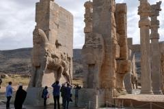 Und da sind wir! Persepolis!