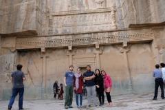 Ein letztes Foto, bevor wir Persepolis den Rücken zuwenden