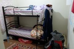 Unser Stockbett-Zimmer. Anders, als von uns erwartet, aber sehr gemütlich