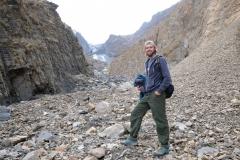 Anschließend nähern wir uns dem Gletscher bis auf Sichtweite