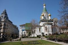Die russische Kirche Sweta Nikolai