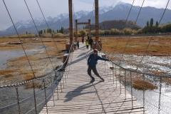 Spaß auf der Hängebrücke ;-)