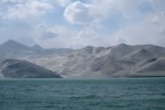 Der 'White Sand Dune Lake', windig und kühl ist es hier