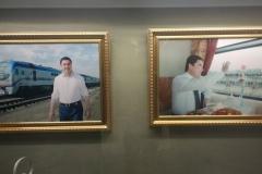 """""""Hall of fame"""" für den Präsidenten"""