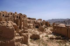 Kharanaq, ein verlassenes Lehmziegeldorf nordöstlich von Yazd