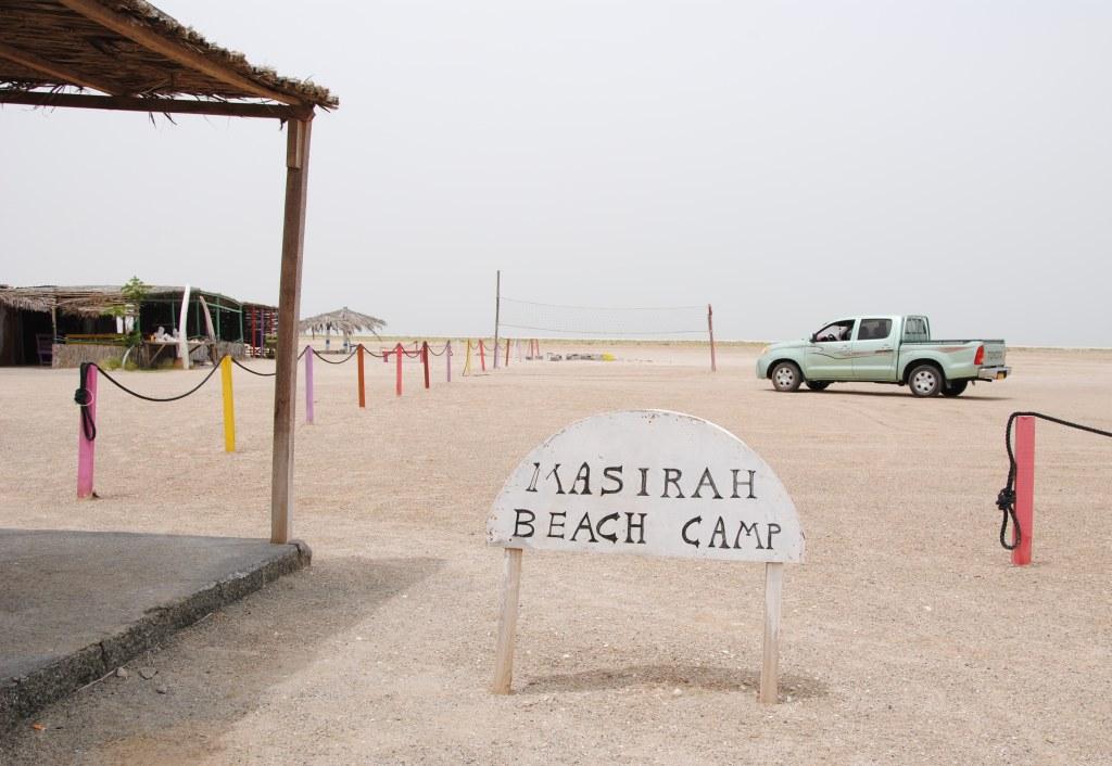 Masirah Beach Camp - Geheimtipp für Kitesurfen im Oman (geöffnet: Juni - September)