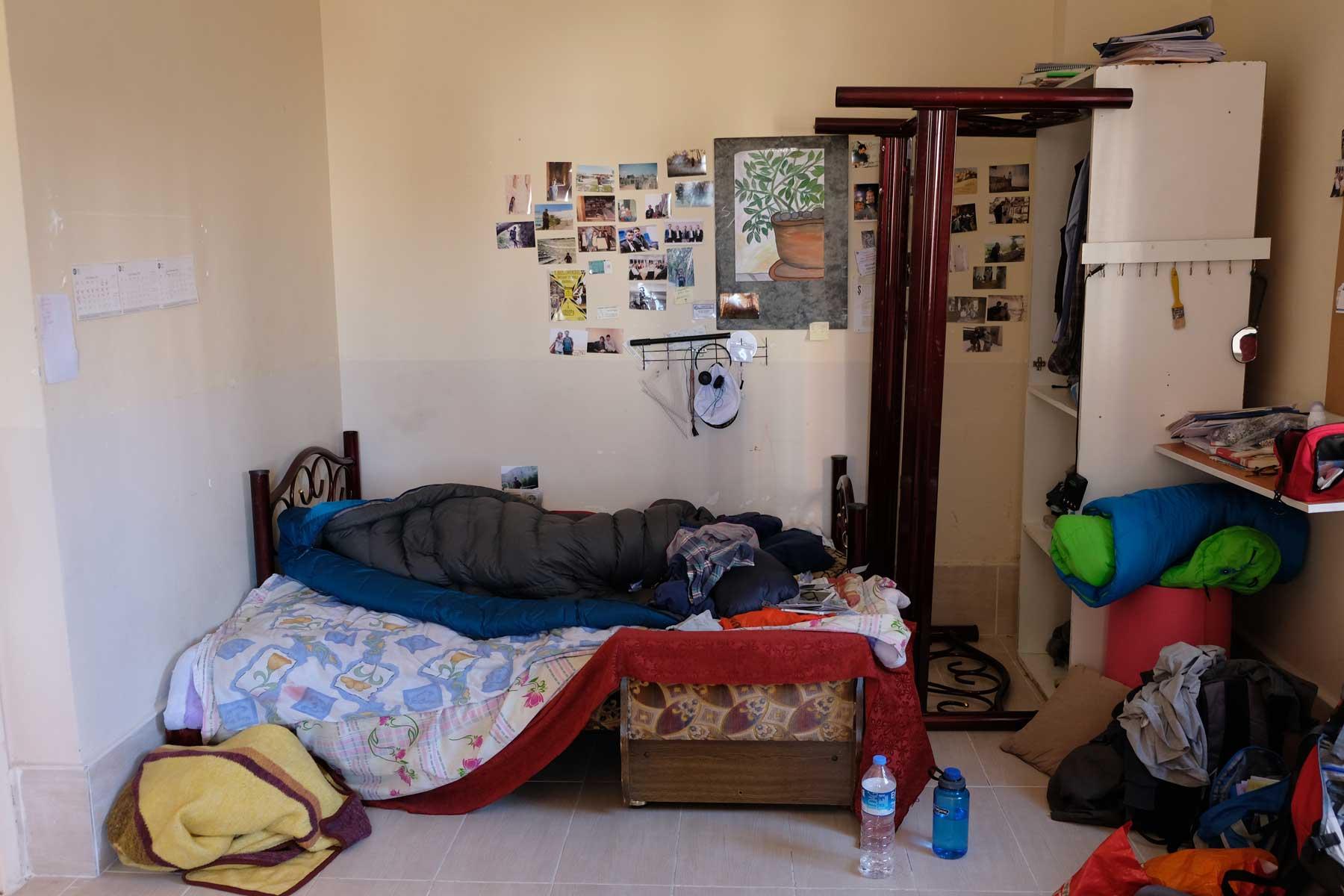 Unser Schlafplatz bei Mustafa und Natalia