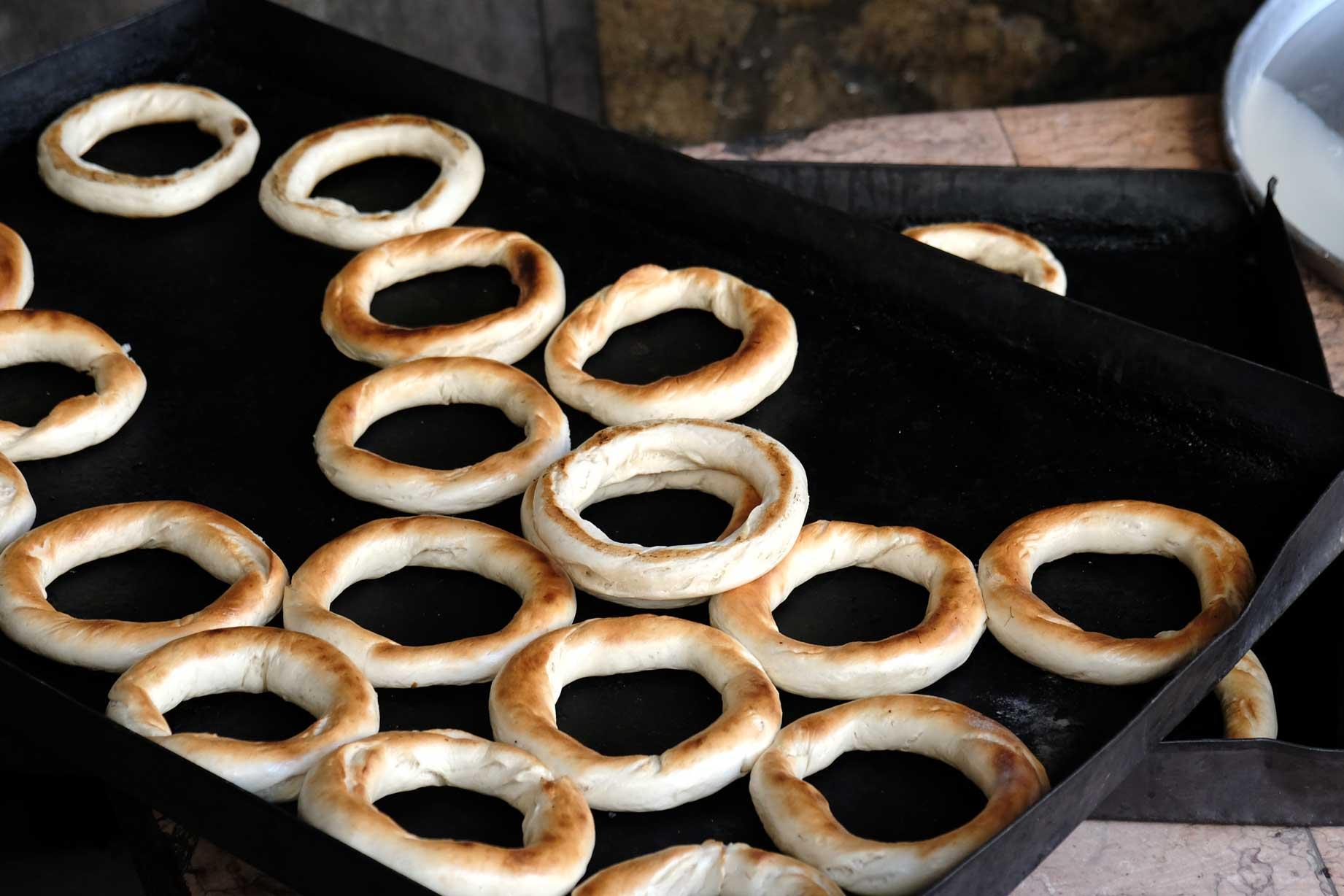Und das schmeckt man! Die noch warmen Kringel sind einfach köstlich!