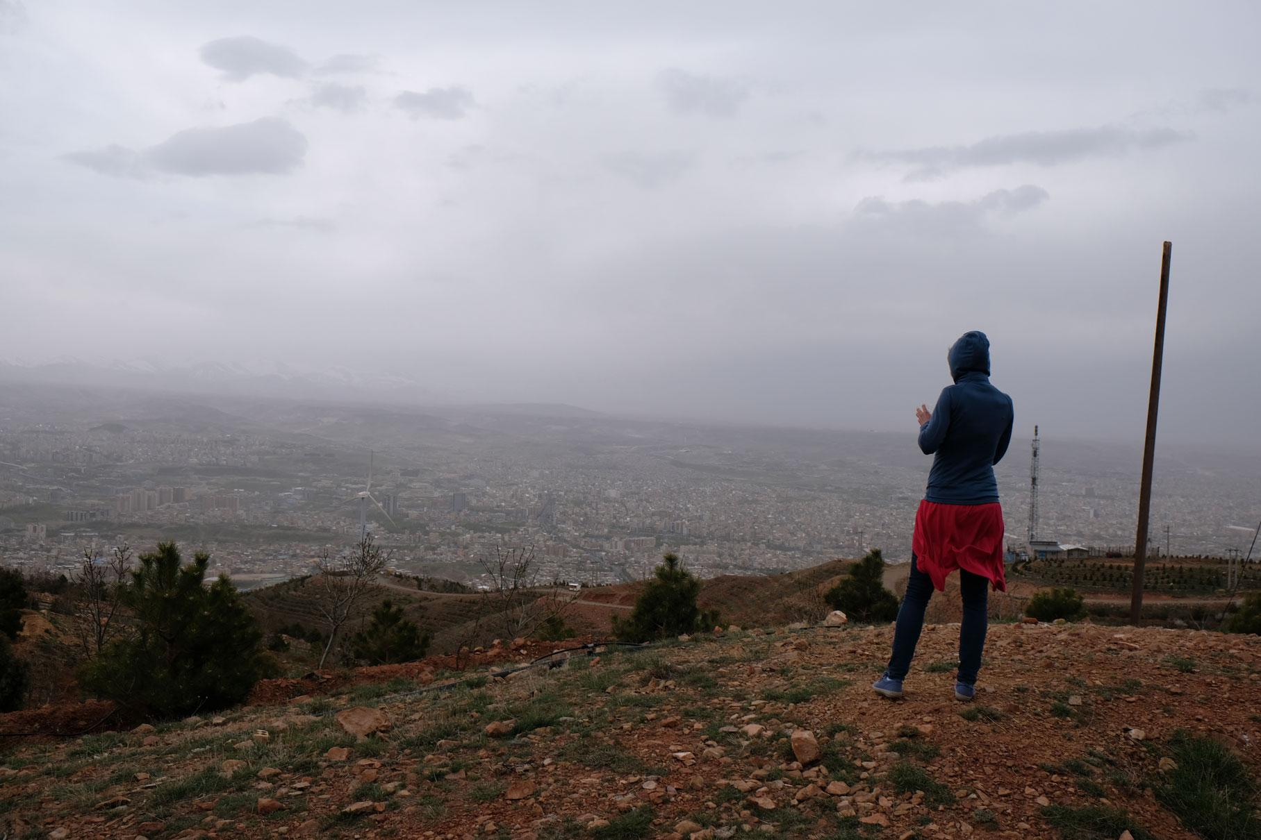 ...bevor wir runter vom Berg wandern