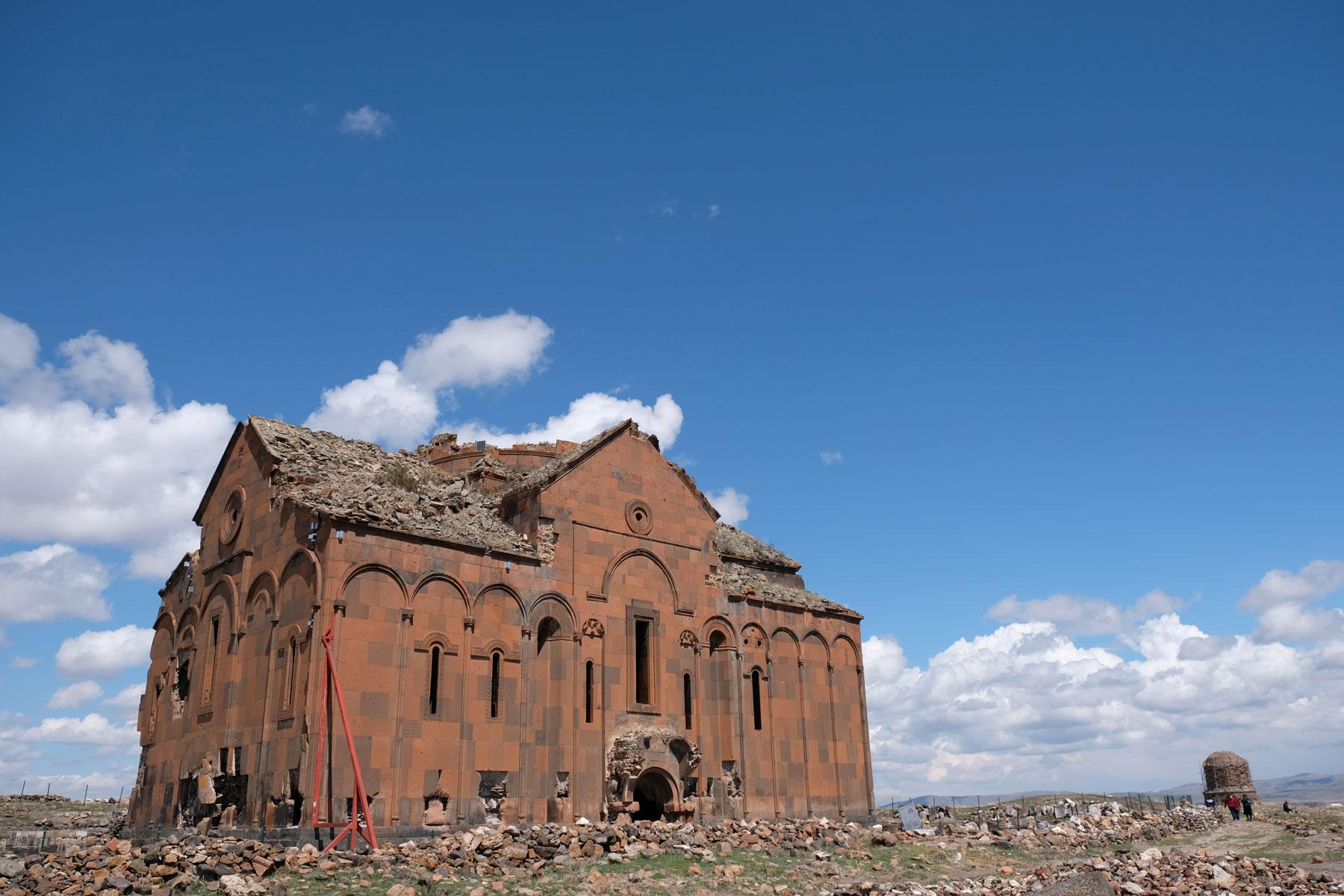 """Blick auf die """"Kathedrale der heiligen Jungfrau"""""""