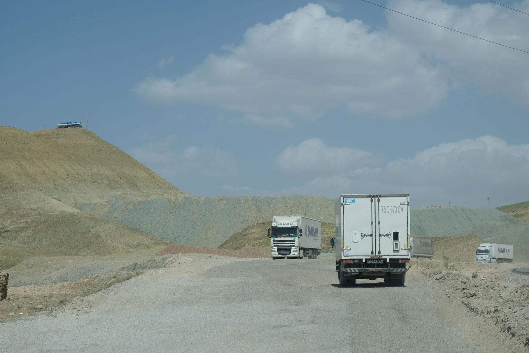 Anreise nach Taschikistan