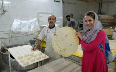 Bye, bye Kashan. Wenn auch das Labneh-Brot nicht unbedingt lecker ist, so ist dieses Exemplar doch ein ganz besonderes! :-)