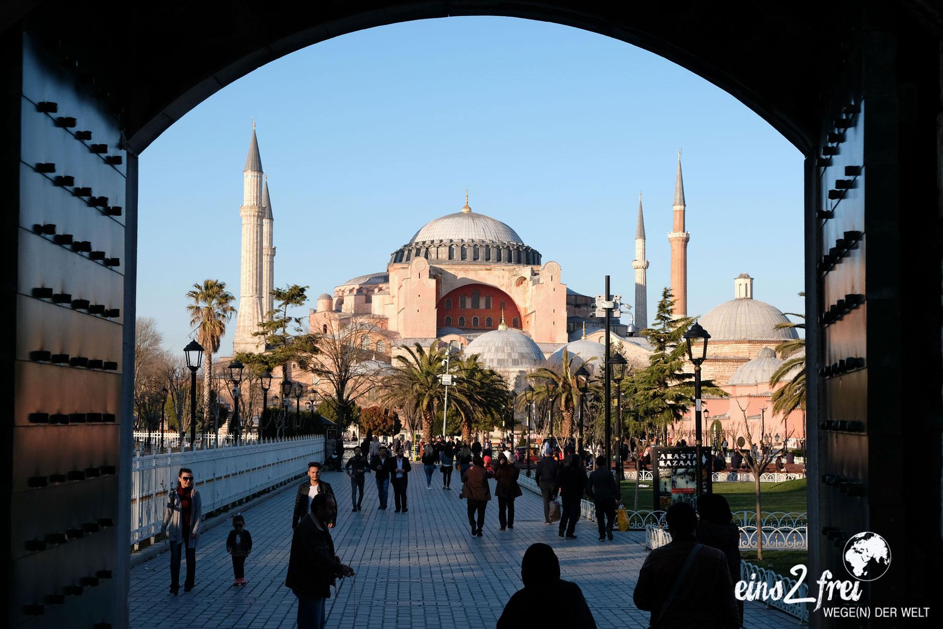 """Unser liebstes Bild in der Kategorie """"Lieblingsbild"""": Hagia Sophia. Istanbul, Türkei. März 2017."""