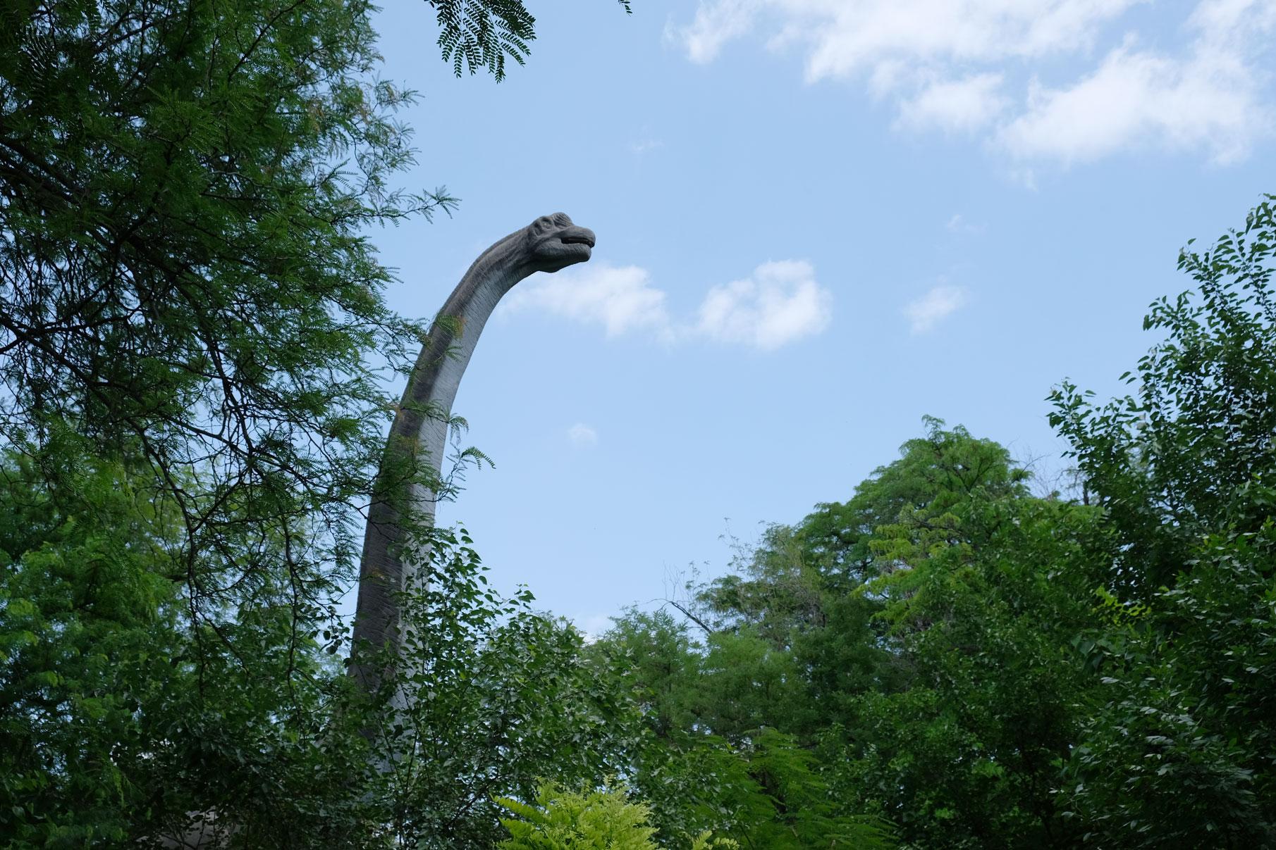 Ups, ein Dino lebt noch...