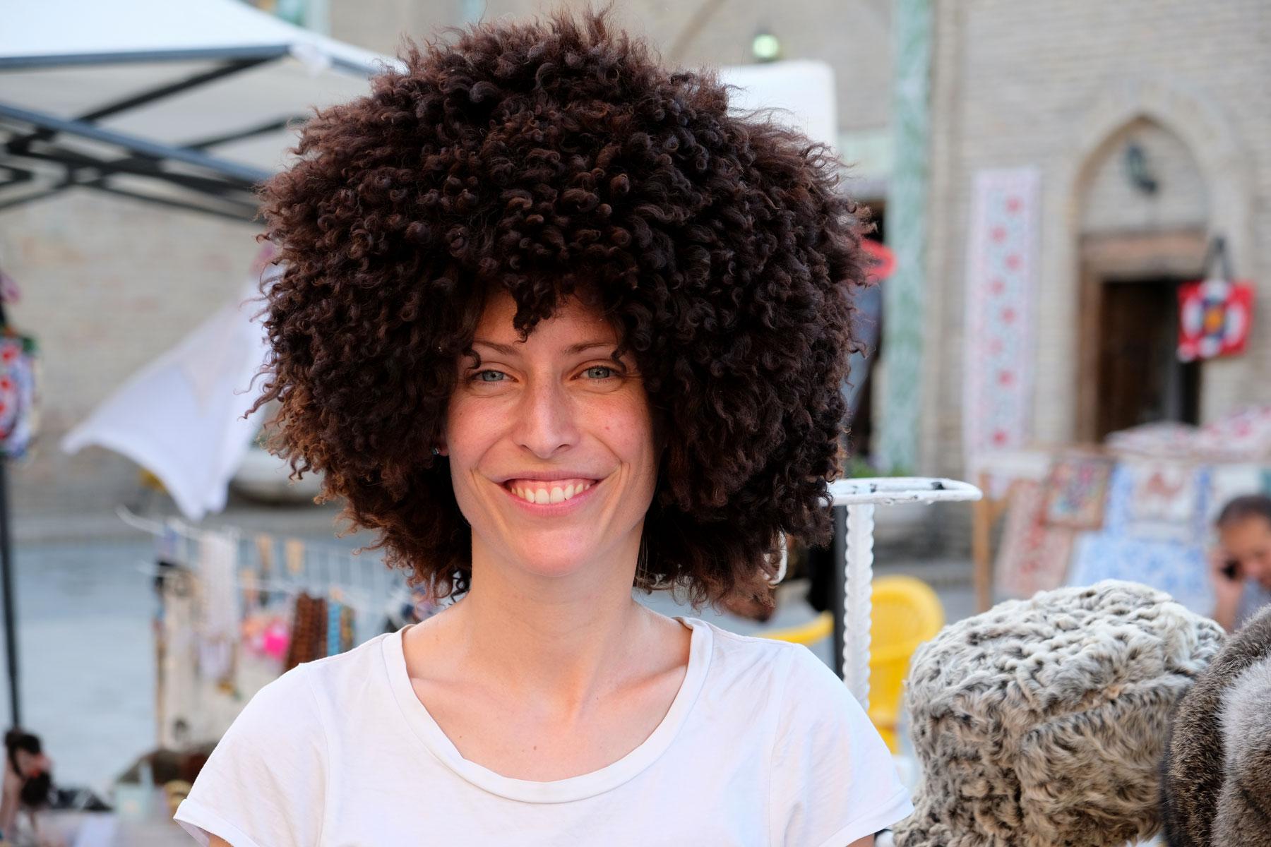 ...und außergewöhnliche Frisuren :-)