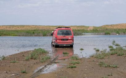 Die Anfahrt Richtung See ist nicht ganz leicht...