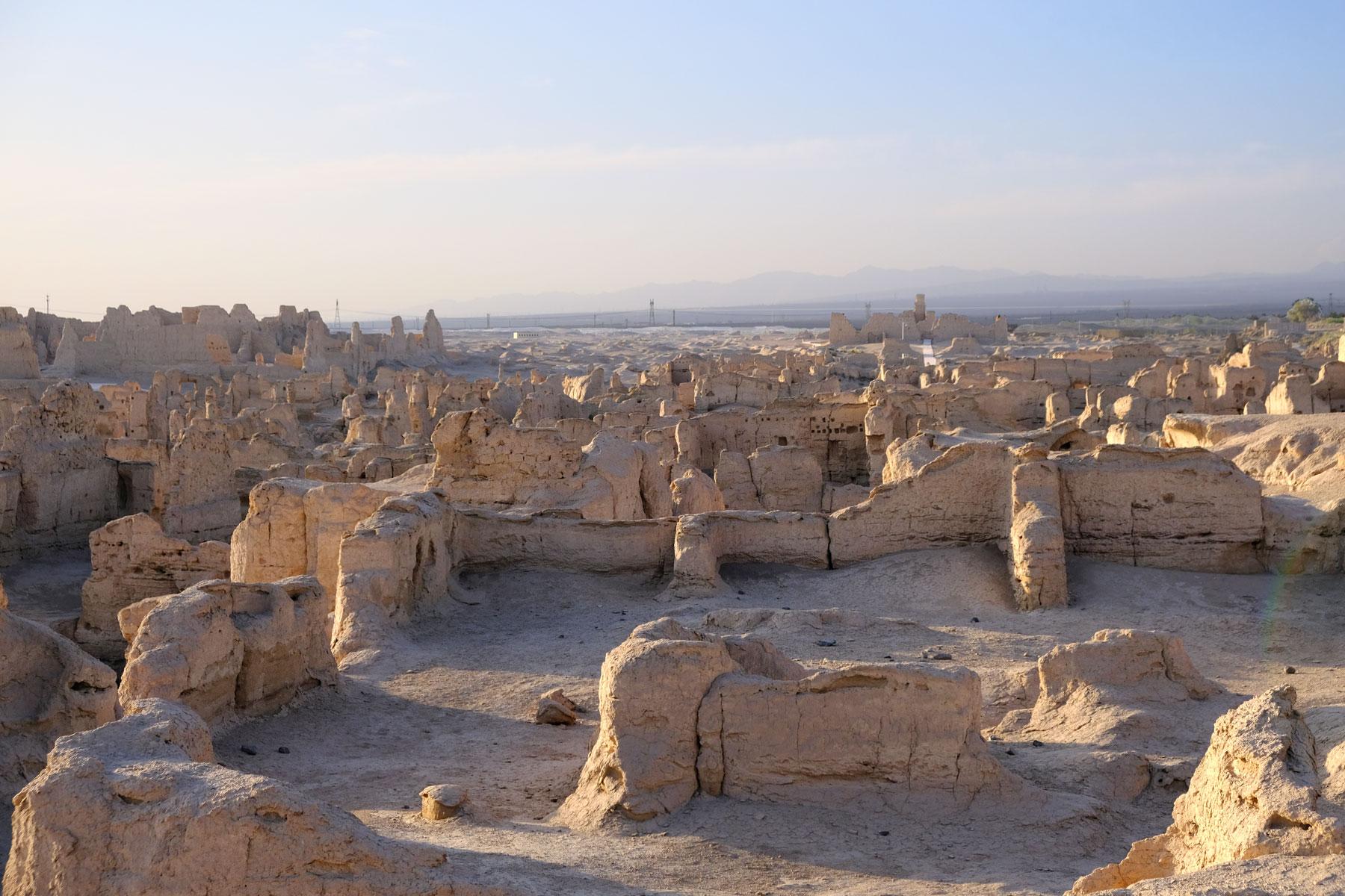 UNESCO Weltkulturerbe: Die Ruinenstadt Jiaohe
