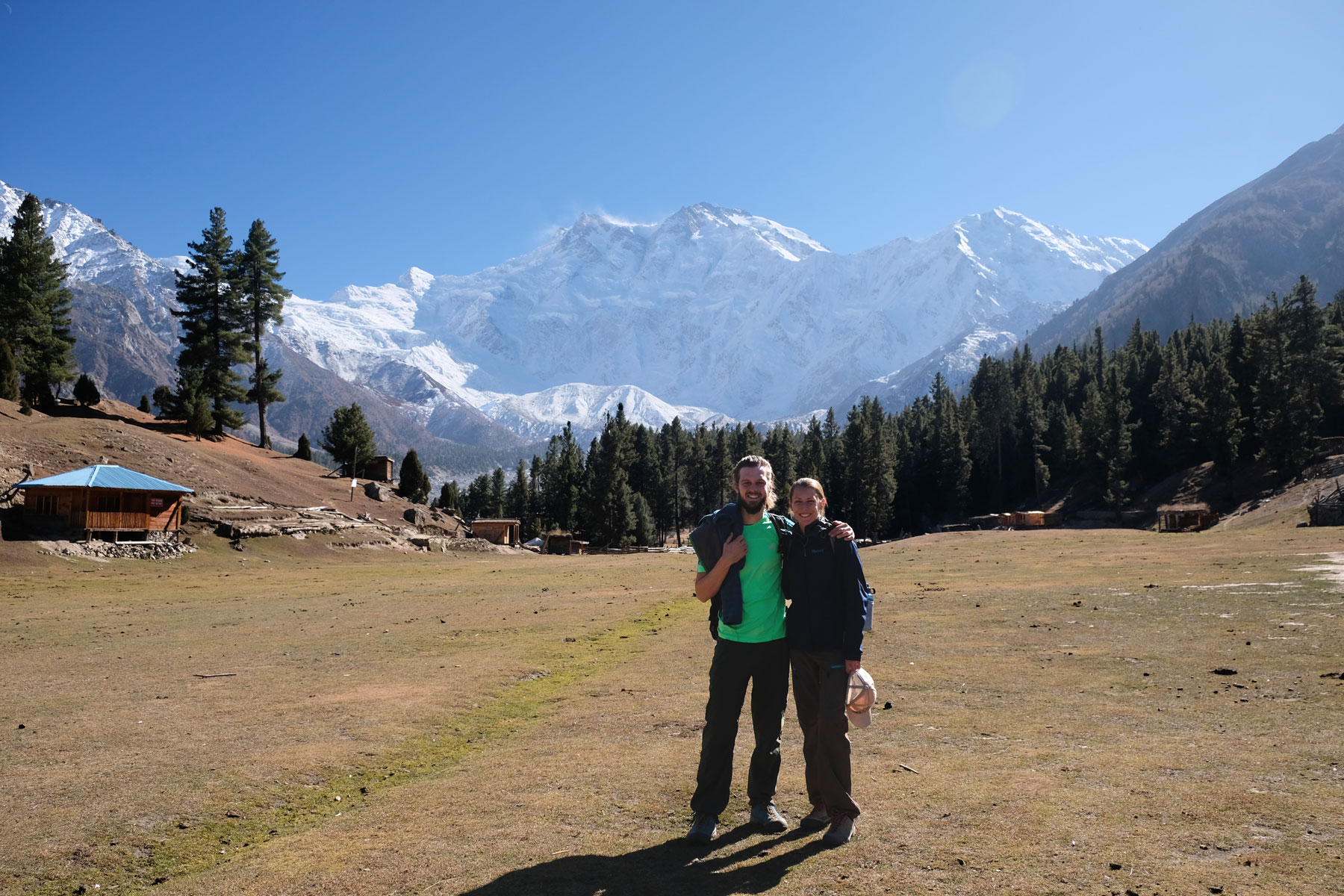 Vor dem Nanga Parbat