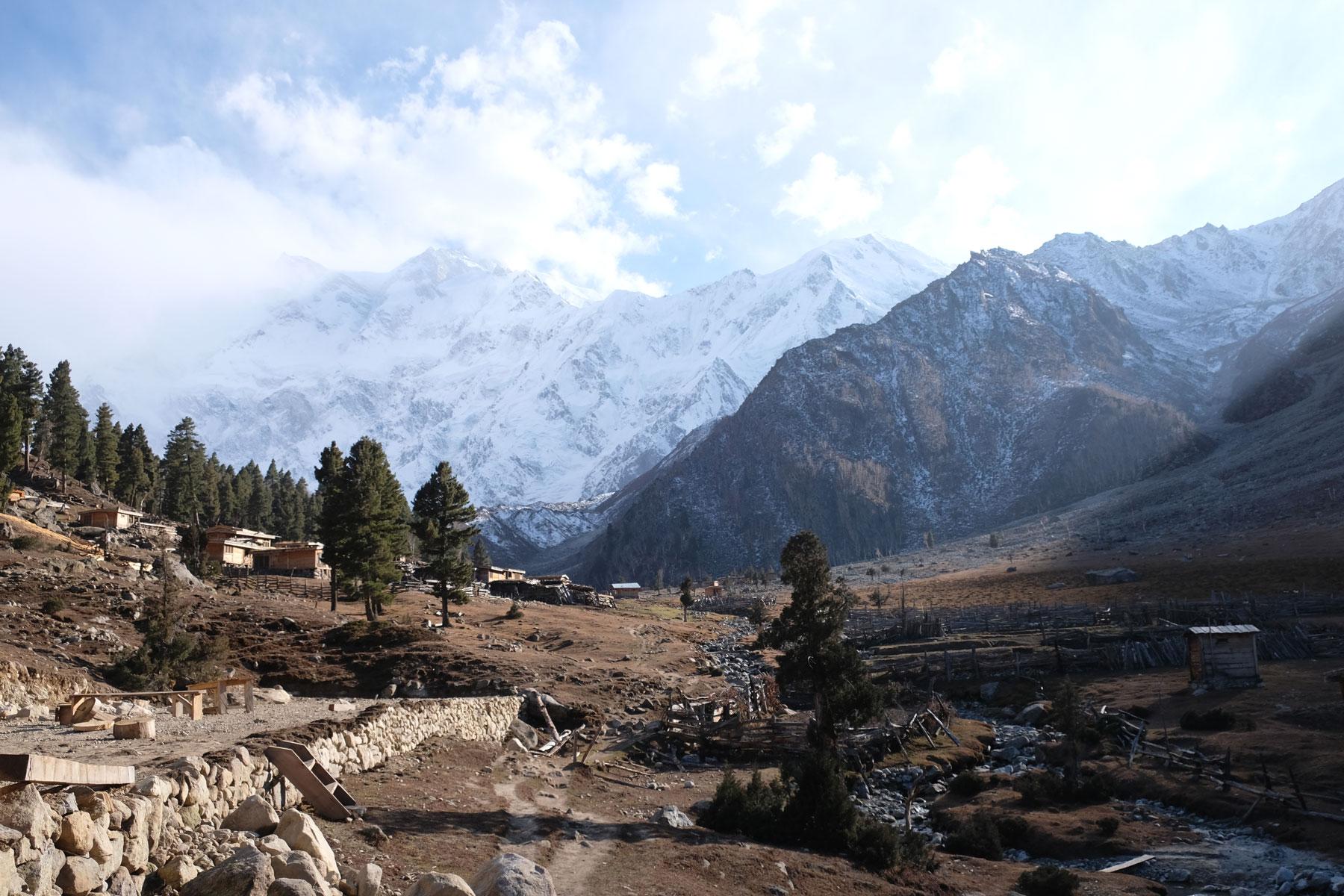 ...auf den Nanga Parbat.