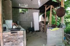 In den Sommermonaten nutzt Ibragims Familie eine Outdoor-Küche, um die Mahlzeiten zuzubereiten