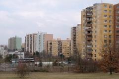 Die Wohnung von Gastgeber Fero ist im mittleren, kleineren Gebäude