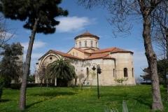 In Trabzon besichtigen wir die Hagia Sophia, früher eine Kirche, heute als Moschee genutzt