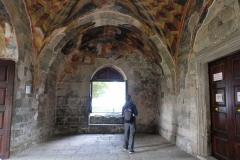 Noch sind beeindruckende Fresken zu sehen