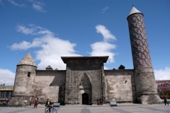 Die Yakutiye-Medrese, heute ein Museum über das Leben früher in Erzurum