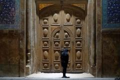 Die Besuchszeiten waren leider schon vorbei und das Eingangstor geschlossen