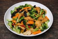 ...und leckeren Tofu mit Gemüse. Eher unser Fall :-)