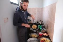 Pfannkuchen zum Frühstück, Sebastians Métier :-)
