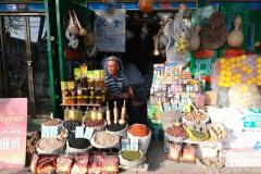 Laden am Straßenrand