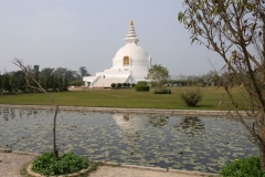 Im Norden des Parks ist die Peace Pagoda ein beliebtes Ziel für Ausflügler