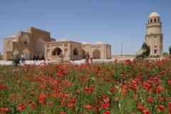 Ein Mausoleum, heute gut besucht von Einheimischen