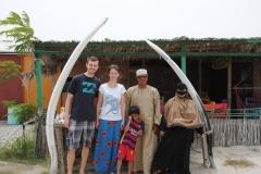 Gruppenbild mit Mohammed und seiner Familie