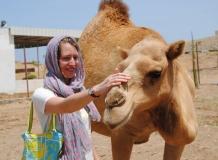 Leo mit der Kamelmama