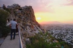 Nächster Spaziergang hoch auf den Sulaiman-Too, um den schönen Sonnenuntergang anzuschauen