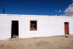 Eingang zum kleinen Homestay in Bulunkul