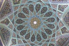 Beeindruckende Mosaik-Decke