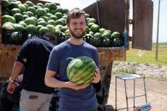 Melone gibt's auch